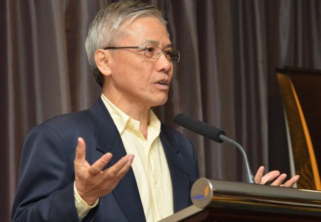Ho Peng Kee speaking